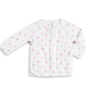 Aden + Anais Long Sleeve Kimono Top - Darling Glow